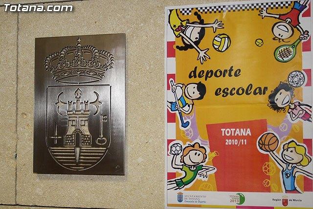 """Programa de """"Deporte Escolar 2010/11"""" presentado por la concejal�a de Deportes, Foto 2"""