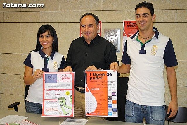 Nace el nuevo club deportivo Club P�del Vs Tenis Evolution, Foto 1
