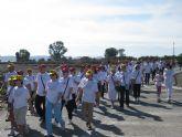 Más de 200 lumbrerenses se solidarizan con los enfermos de Alzheimer en la 'I Marcha Solidaria' de la Asociación Lumbrerense ALDEA