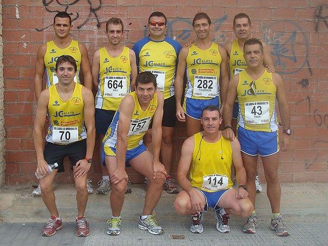 Continua la intensa actividad de los atletas del Club Atletismo Totana, Foto 1