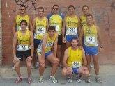 Continua la intensa actividad de los atletas del Club Atletismo Totana