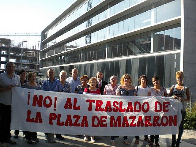 Visto para sentencia. Asociación de afectados por el traslado de la Plaza de Abastos de Mazarrón - 1, Foto 1
