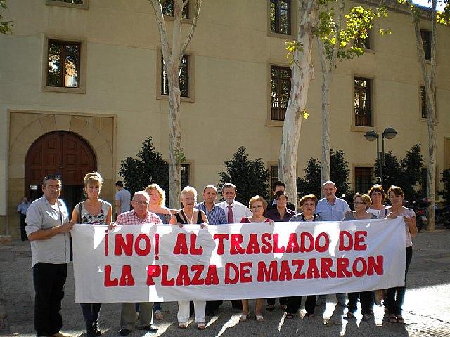Visto para sentencia. Asociación de afectados por el traslado de la Plaza de Abastos de Mazarrón - 2, Foto 2