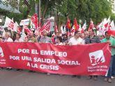IURM participa en la manifestación convocada por la huelga general bajo el lema 'Por una salida social a la crisis'