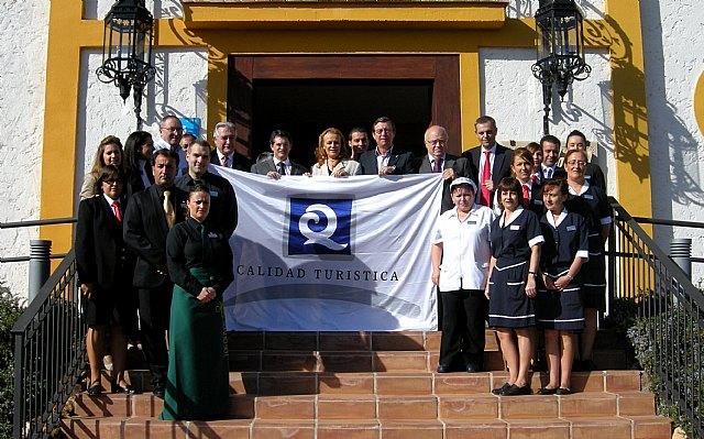 Turismo entrega la novena ´Q de Calidad´ de Lorca al hotel Hacienda Real Los Olivos - 1, Foto 1