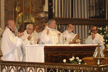 Misa de Acción de gracias por los 40 años de D. Juan Uribe al servicio de las misiones - 1, Foto 1
