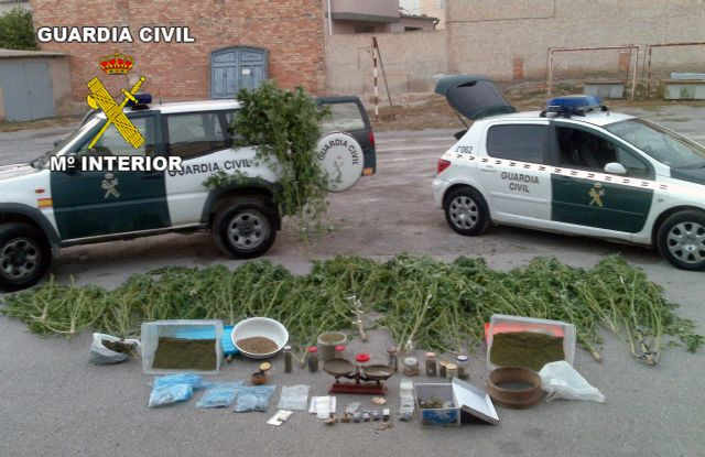 La Guardia Civil desmantela dos puntos de producción y distribución de marihuana en Archena y Pliego - 4, Foto 4
