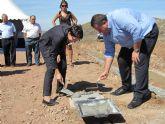 Colocan la primera piedra en las obras de restauración de las ramblas de La Unión