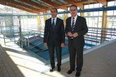 El delegado del Gobierno y el alcalde de Beniel inauguran la nueva Piscina Municipal