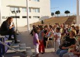 Teresa Rabal congregó a numerosos niños y niñas lumbrerenses en el Festival infantil 'Veo Veo ¿Qué Ves?'