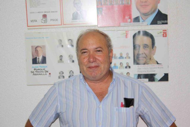 El PSOE de Abanilla elige a José Antonio Cutillas como candidato para las elecciones de 2011 - 1, Foto 1