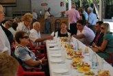 Autoridades municipales asisten a los actos que han conmemorado el Día Internacional de las Personas Mayores
