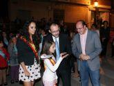 El cantaor flamenco Curro Piñana abrió anoche las Fiestas de Puerto Lumbreras con la lectura del pregón y sus cantes flamencos