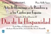 Alcantarilla celebrará el próximo domingo el día de la hispanidad con un acto de homenaje a la bandera y a los caídos por españa