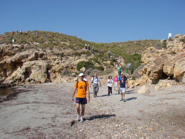 Celebrada la ´IV acampada regional y la marcha de veteranos´ en Mazarrón - 1, Foto 1