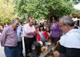 Inaugurado el Mercado Medieval y la Feria de Artesanía Local de las Fiestas de Puerto Lumbreras 2010