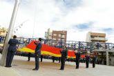 Alcantarilla celebró el día de la hispanidad con un acto de homenaje a la bandera y a los caídos por españa
