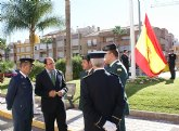 Puerto Lumbreras se suma al acto homenaje de la bandera de España, con motivo del Día de la Hispanidad