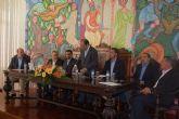 Las Torres de Cotillas presenta en su ciudad hermana lusa su 'Plan Estratégico' municipal