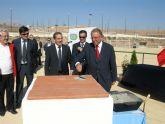 Ponen la primera piedra de las nuevas instalaciones en el Polideportivo Municipal
