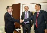 Campos se reúne con el delegado de la Sección Sindical de Yecla de Unión de Policías Locales y Bombero s de Murcia