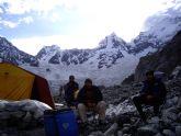 Unionenses en las alturas del Himalaya