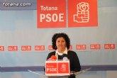 Rueda de prensa PSOE Totana sobre actualidad política municipal y junta de portavoces