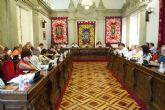 El lunes celebrará pleno el Ayuntamiento de Cartagena