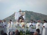 La Virgen de la Caridad visita la parroquia de Santiago Apóstol de Cartagena