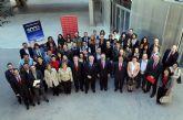La Universidad de Murcia entregó las credenciales a más de medio centenar de becarios