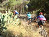 La concejalía de Deportes organiza una ruta de bicicleta de montaña por las calas de Mazarrón