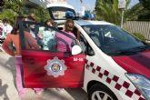 Exhibiciones y juegos para cerrar la exposición de la Policía Local en el Corte Inglés