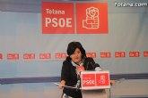Rueda de prensa del PSOE, valoración del Pleno de octubre 2010