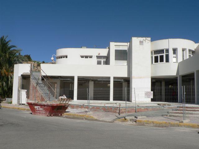 Blaya visita las obras de la biblioteca del Puerto - 1, Foto 1