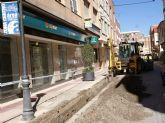 El Ayuntamiento y Aqualia continúan las obras de renovación y mejora de tuberías
