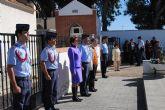 La AGA celebra el día de los caídos por España, en el cementerio de San Javier