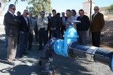 Cerdá visita en Cieza las obras que completan la instalación del riego por goteo en las zonas regables de Ascoy, Benís y Carrasquilla
