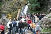 M�s de una veintena de senderistas disfrutaron durante el pasado fin de semana de varias rutas en la Sierra del Agua (Albacete)
