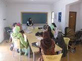 Las mujeres marroquíes de Fuente Álamo aprenden español