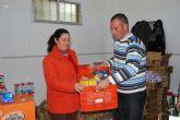 Más de 12.000 kilos de alimentos para las familias más necesitadas de Fuente Álamo