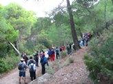 Nueva ruta del Club Senderista de Totana por el paraje de las Alquer�as