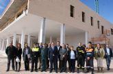El Alcalde y el Consejero de Justicia visitan la recta final de las obras del nuevo Centro Integral de Seguridad y Emergencias de Puerto Lumbreras