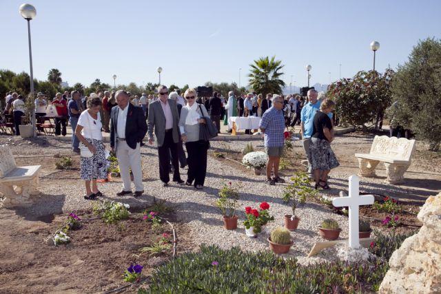 El Jardín de la Memoria recuerda a los caídos en guerras, Foto 1