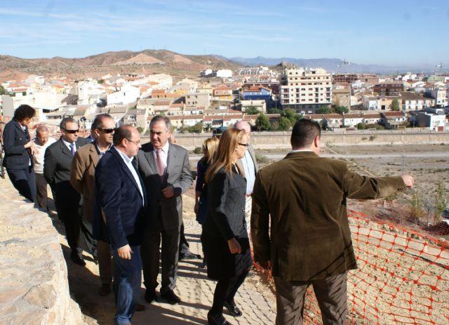 Las obras de adecuación de los accesos y del entorno del Castillo de Nogalte entran en su recta final - 1, Foto 1