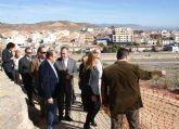Las obras de adecuación de los accesos y del entorno del Castillo de Nogalte entran en su recta final