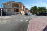 Concluyen las obras de reordenación del tráfico de la calle Velázquez de Las Torres de Cotillas
