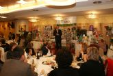 La cena benéfica de la Asociación Contra el Cáncer de Puerto Lumbreras congregó a más de 300 personas