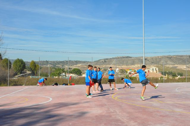 Inaugurada la nueva Pista Polideportiva Exterior en la pedanía de El Niño de Mula - 1, Foto 1