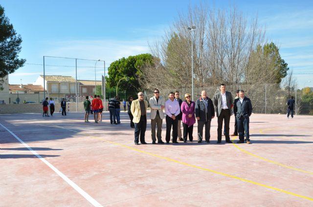 Inaugurada la nueva Pista Polideportiva Exterior en la pedanía de El Niño de Mula - 2, Foto 2