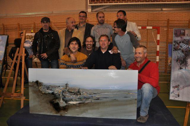 Un cordobés gana el primer premio del IV Certamen Nacional de Pintura al Aire Libre Ciudad de Mula - 1, Foto 1